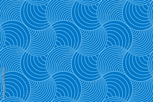Photo Backgrounds pattern seamless geometric blue circle abstract and line vector design