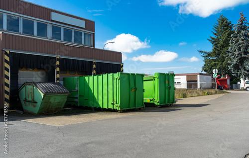 Fotografía  Müllcontainer