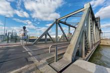 Bridge Over Antwerp Lock
