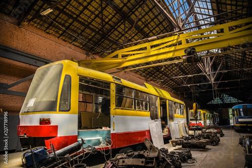 tram repair shops