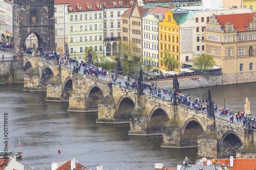 Plakat Most Karola, Praga, Czechy