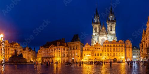 Plakat Rynek Starego Miasta, Praga, Republika Czeska