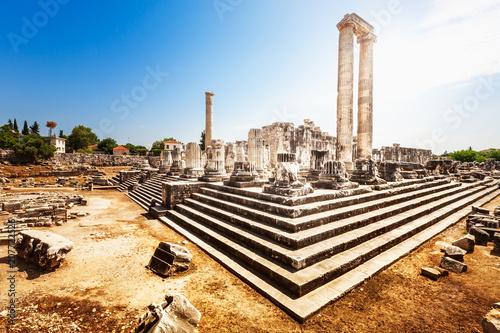 Keuken foto achterwand Historisch geb. Temple of Apollo in Didyma, Turkey