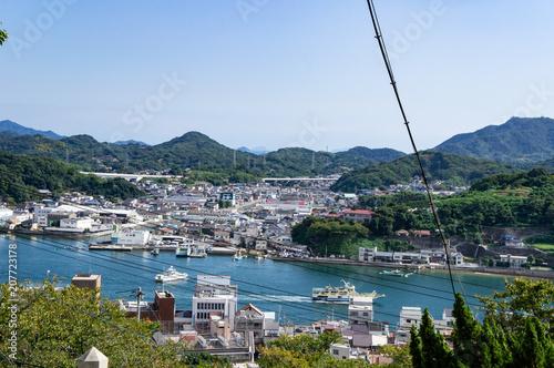 Spoed Foto op Canvas Oceanië 尾道の千光寺から見た風景