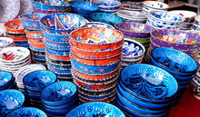 Turkish Ceramic Bowls Colorful...