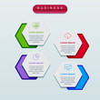 Business infographics template design elements for your business with icons.