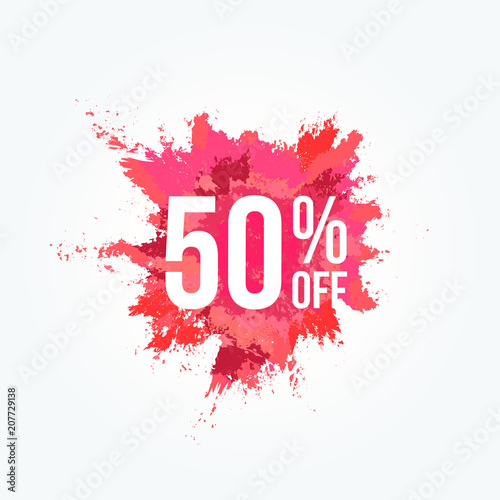 Photo 50% Off Powder Stain Commercial