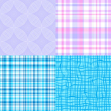 Set Of Seamless Background. Ch...