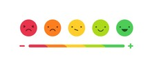 Feedback Or Rating Scale With ...