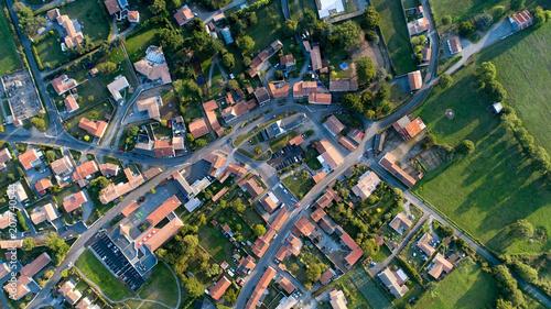 Fototapeta Photographie aérienne de Cheix en Retz obraz