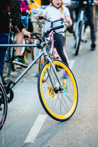 fixed gear bicycle Poster