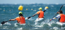 Paddlers Race Their Ocean Kaya...