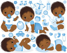 Vector Set For African America...