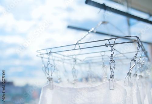 Foto  洗濯、タオル、家事、天気