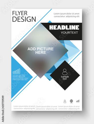 Business Flyer Design For Art Template Design List Front Page