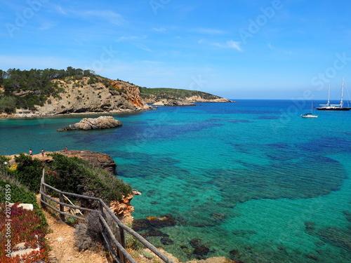 Cadres-photo bureau Nature Ibiza - Bucht in der Nähe von Portinatx
