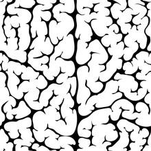 Seamless Pattern Brain