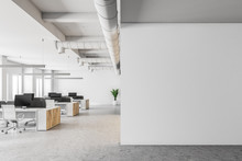 White Open Space Office Interi...