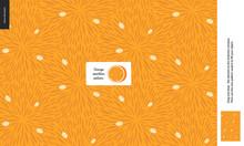 Food Patterns - Fruit, Orange ...