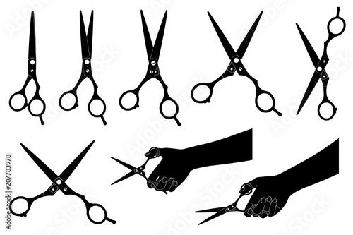 Fotografija Illustration of scissors isolated on white