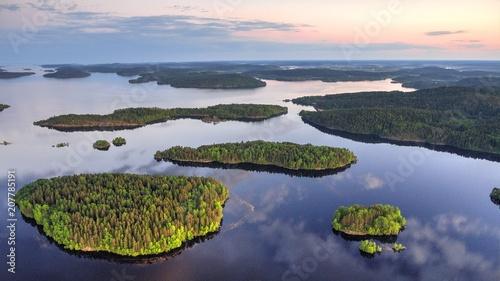 Fotografie, Obraz Ladoga Lake