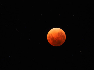 Super blue blood moon z 2018 roku