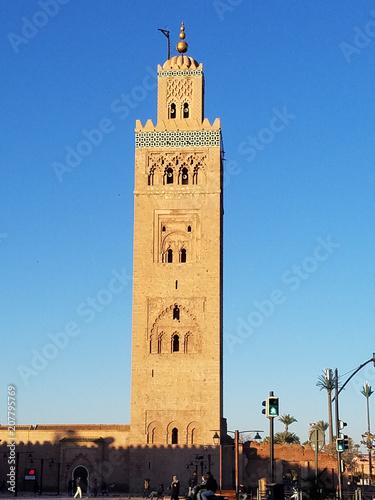 Fotobehang Afrika Marrakech