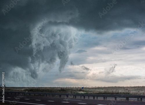 Storm Rolling Wallpaper Mural