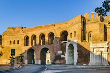 Porta Pinciana, Rome, Italy