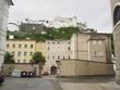 Salzburger Innenstadt mit Blick auf die Festung
