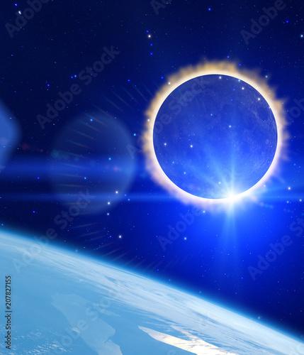Fototapety, obrazy: Eclipse of the Sun.