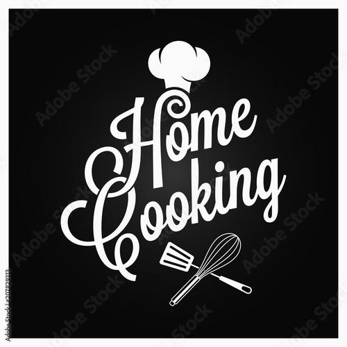 domowego-kucharstwa-rocznika-literowanie-z-kuchennymi-naczyniami-na-ciemnym-tle