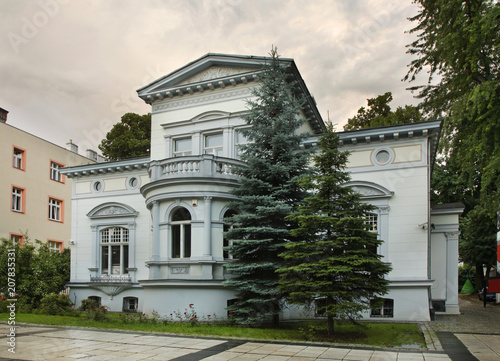 Fototapeta View of Zielona Gora. Poland obraz