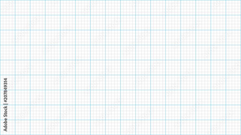Fototapety, obrazy: Graph paper background