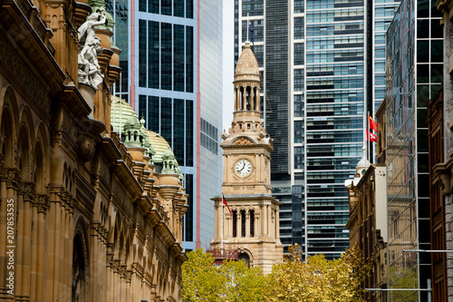 Fotomural Town Hall & Queen Victoria Building - Sydney - Australia