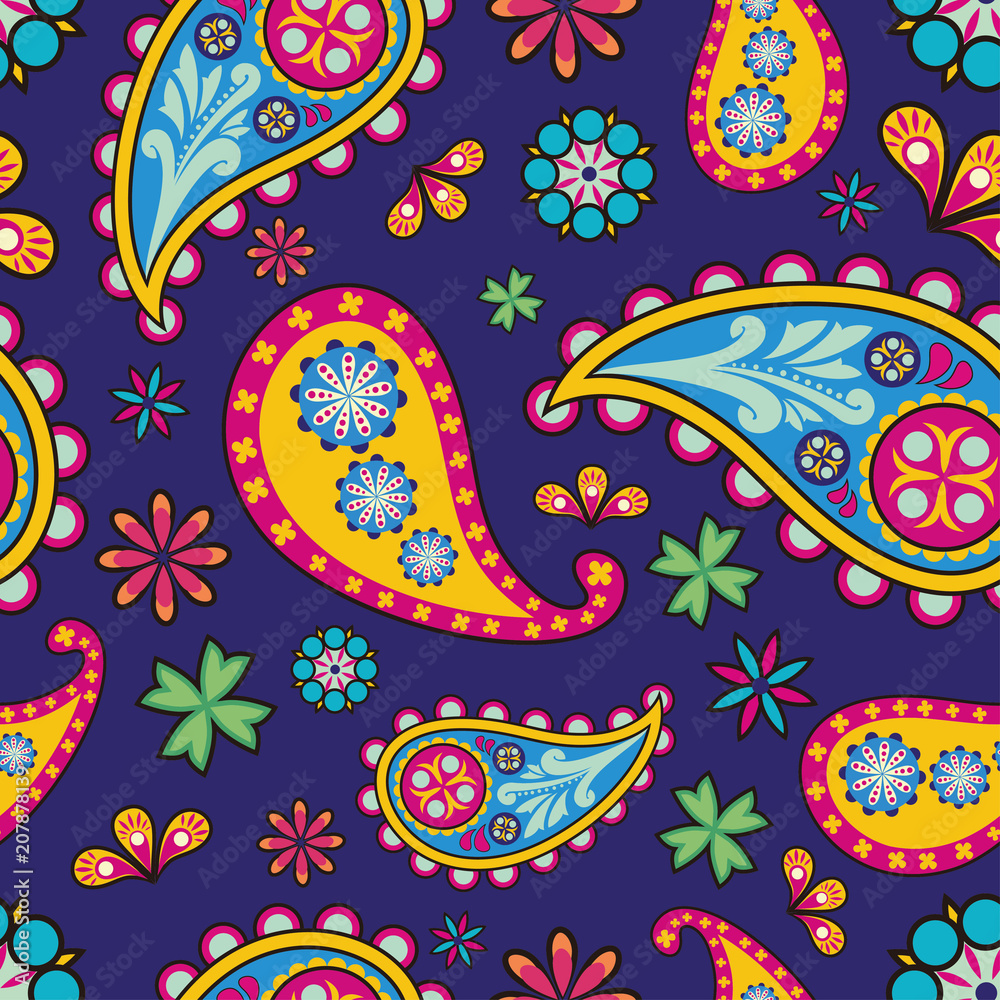 Beautiful Pattern with paisley design