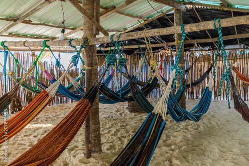 Fotografie, Obraz  basic hammock accommodation