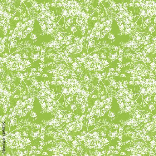 Spring nature plant background Fototapet