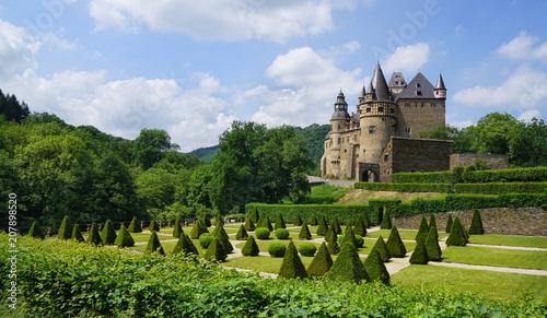 Keuken foto achterwand Historisch geb. Schloss Bürresheim