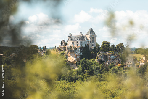 Foto op Plexiglas Europese Plekken Castle of Montfort in Dordogne department, France