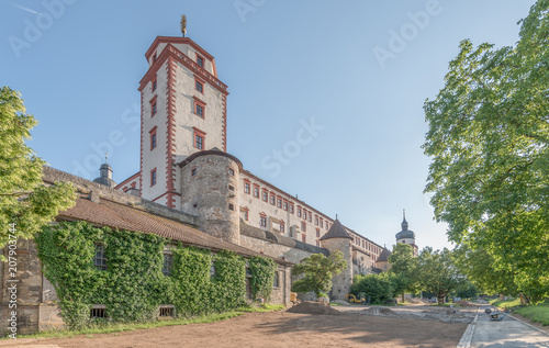 Keuken foto achterwand Historisch geb. Festung Marienberg Würzburg
