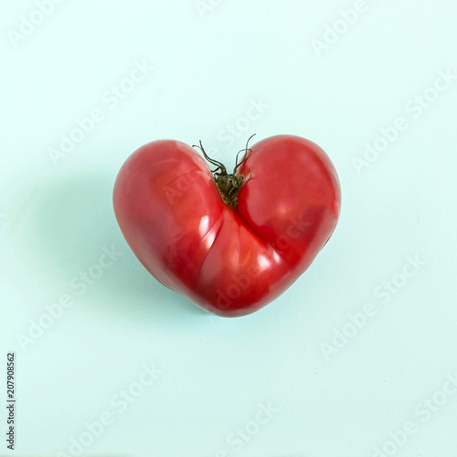 Tomato in shape of heart