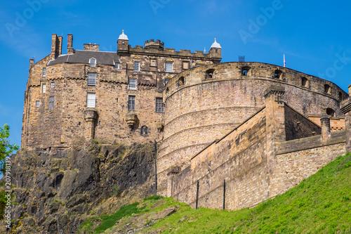 Plakat Zamek Edynburg / Szkocja