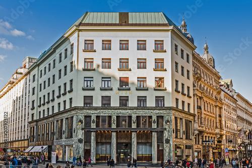 Looshaus am Michaelerplatz w Wiedniu