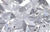 Fototapeta Kamienie - Realistic diamond texture close up, 3D illustration.