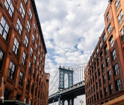 Foto op Canvas Brooklyn Bridge Brooklyn bridge New york city