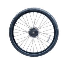 Bicycle Wheel Of Mountain Bike.