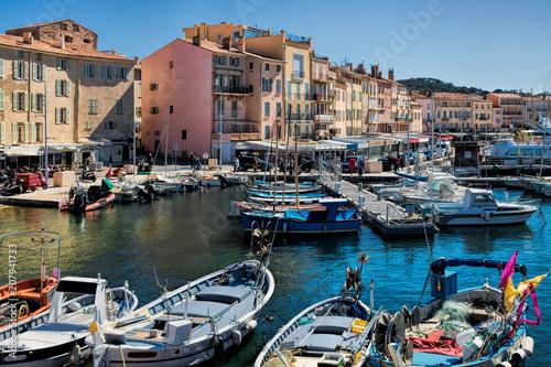 In de dag Poort Saint-Tropez, Hafen