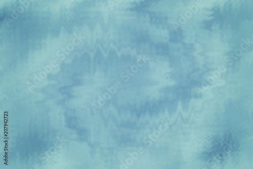Fototapety, obrazy: Blue abstract glass texture background or pattern, design template