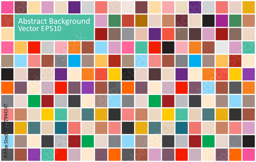 Staande foto Abstractie Art Colorful tiles abstract background